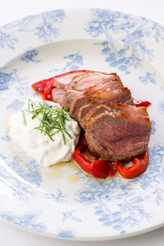This easy lamb rump recipe with burrata and roasted peppers is fantastically…
