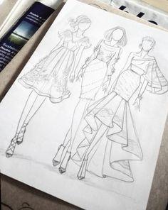 Next Post Previous Post Zeichnen und skizzieren. Fashion Drawing Tutorial, Fashion Figure Drawing, Fashion Drawing Dresses, Fashion Illustration Dresses, Fashion Illustrations, Drawing Fashion, Fashion Design Inspiration, Fashion Design Portfolio, Fashion Design Drawings