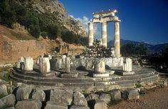 ✮ Pronaia Athena tholos temple, Delphi