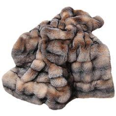 Fox Fur Coat, Fur Coats, Fluffy Slides, Faux Fur Bedding, Fur Blanket, Knit Blankets, Fur Keychain, Fur Accessories, White Fox