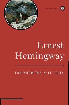 For Whom the Bell Tolls by Ernest Hemingway, http://www.amazon.com/dp/B000FC0OOU/ref=cm_sw_r_pi_dp_paPFqb0FBV2V7