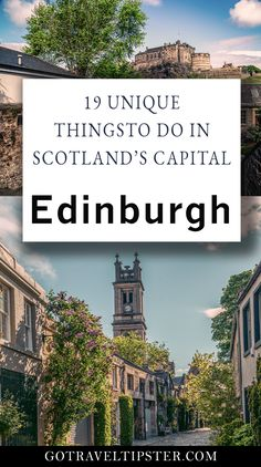Explore Edinburgh, the capital of UK's Scotland with this awesome guide and travel tips.  Whether you are looking for Royal Mile attractions or hidden off the beaten path gems, Edinburgh has plenty to offer.  Discover hidden spots for best photography and Instagram in town, Dean Village, the best view of the Castle and more.  This helpful guide includes travel tips and other travel suggestions.