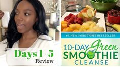 the green smoothie cleanse! Featuring delicious snack, tips, ideas and more to make the cleanse easier! 10 Day Cleanse, Whole Body Cleanse, Healthy Cleanse, Cleanse Detox, Detox Soup, 10 Day Green Smoothie, Green Smoothie Recipes, Smoothie Diet, Healthy Smoothies