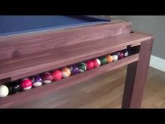 Diy Pool Table, Custom Pool Tables, Pool Table Dining Table, Console Table, Billiard Room, Mortise And Tenon, Table Games, Purpose, Room Decor