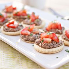 Olive and Goat Cheese Tartlets