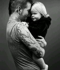 Tattooed Daddy I would LOVE if Jac did this with each girl looking over the shoulder with thier name tattoo