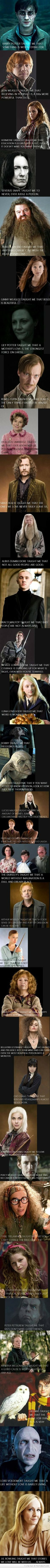 Life lessons - HP Style! **so many feels**