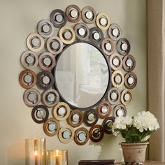 Unique but impressive gifts are available at Kirkland's for less than $100! The Metallic Dots Mirror is a decorative statement piece that someone on your holiday list is sure to love!