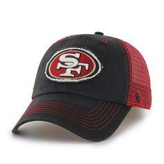 San Francisco 49Ers Taylor Closer Black 47 Brand Stretch Fit Hat
