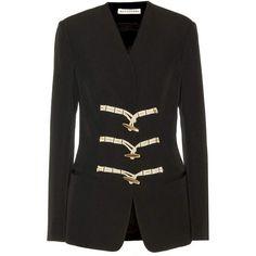 Altuzarra Catelin Wool Jacket ($1,137) ❤ liked on Polyvore featuring outerwear, jackets, altuzarra, wool jacket and woolen jacket