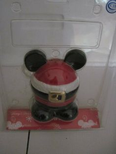 Disney Christmas Mickey Santa Suit 1 Piece Salt & Pepper Shaker Set by Disney. $14.95. this is a truly unique mickey salt and pepper shaker. great gift for the mickey lover