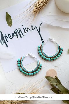 Shop for handmade, vintage, custom, and unique gifts for everyone Unique Earrings, Tassel Earrings, Women's Earrings, Earrings Handmade, Handmade Jewelry, Unique Jewelry, Fashion Earrings, Fashion Jewelry, Gypsy Style