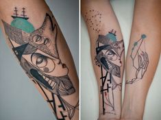 Tattoos - Cubism and Tattoos the famous art and creativity
