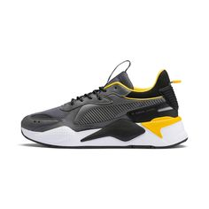 From the PUMA Archives, the original Running System (RS) was an innovative cushioning technology revolutionary for its time. Weve updated the RS for this generation to create the RS-X. Puma Sneakers, Best Sneakers, Casual Sneakers, Air Max Sneakers, Baskets, Puma Basket, Puma Suede, Courses, Men's Shoes