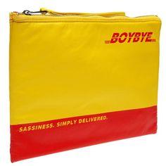 Boy Bye Clutch Bag | Fashion Bags | Premium Accessories
