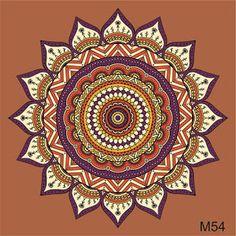 Mandalas Azulejos Autoadhesiv. Vinilos Deco 15x15 Cm X12u - $ 160,00