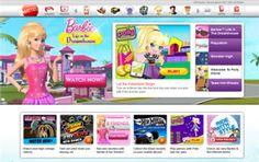 Mattel launches mobile site