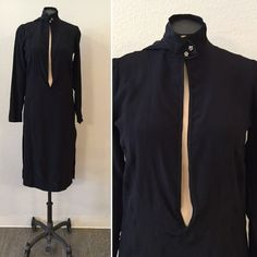 A personal favorite from my Etsy shop https://www.etsy.com/listing/535292950/olivia-tunic-vintage-black-silk-tunic