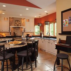 Kitchen Photos Islands Design Ideas, Pictures, Remodel, and Decor