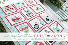Snapshots Quilt-Along program will benefit St. Jude Children's Research Hospital! Begins in January!!!