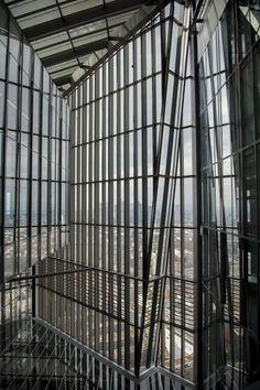 Exklusive Einblicke in die Europäische Zentralbank (EZB) in Frankfurt am Main. Der neue EZB-Hauptsitz verfügt über bis zu 2900 Arbeitsplätze. Fotos: Salome Roessler