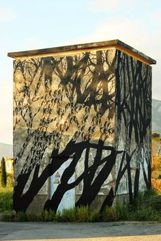 more street art Art Environnemental, Mural Art, Graffiti Murals, Street Art Graffiti, Art Public, Desenho Tattoo, Spanish Artists, Environmental Art, Land Art