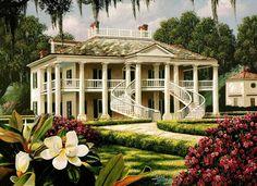 Evergreen Plantation House