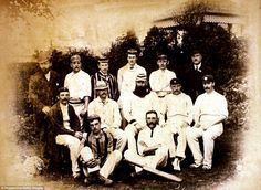 Sport, Cricket, 1884, The Ashes, 2nd Test match at Lords, England v Australia, England won by an innings and 5 runs,