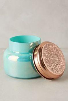 Capri Blue Iridescent Jar Candle