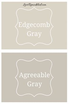 Interested in Edgecomb Gray? Check out this post, comparing Edgecomb Gray to all the top greige paint colors - Agreeable Gray, Accessible Beige, Revere Pewter, Pale Oak and more! Cream Paint Colors, Popular Paint Colors, Neutral Paint Colors, Paint Colors For Home, Entry Paint Colors, Beige Wall Colors, Wall Colours, Gray Color, Benjamin Moore Beige