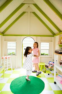 I know it's a playhouse, but it is exactly what I picture for our attic play loft