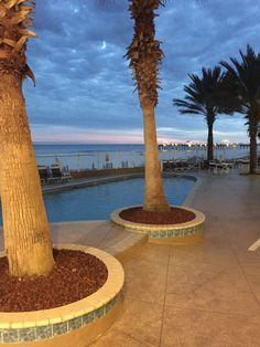 Orange Beach Beachfront Condo Rentals // BA, available for weekly vacation rentals Beach Vacations, Orange Beach, Condominium, Swimming Pools, Fountain, Park, Outdoor Decor, Beautiful, Swiming Pool
