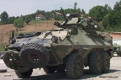 The Grizzly armored personnel carrier is based on the MOWAG Piranha 6x6 chassis