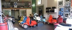 Wanna orginal vintage Vespa? This is the place..