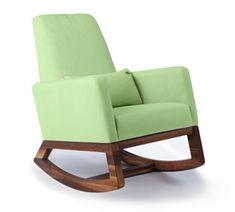 joya rocker chair - modern, non-toxic and sustainable nursery furniture by Monte Design.  #healthynurseryproducts #safenursery #fireretardantfreerockingchair