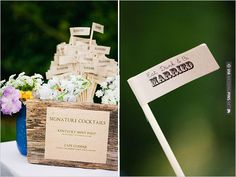 eat drink and be married signs   VIA #WEDDINGPINS.NET