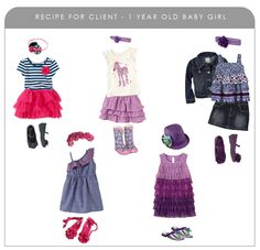 What to wear recipe: 1 year old baby girl
