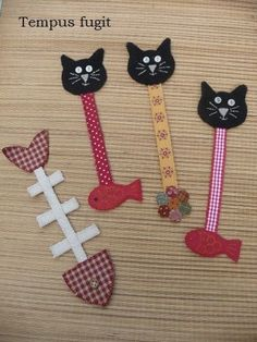craft activities for adults diy projects / craft activities for adults + craft activities for adults diy projects + craft activities for adults creative Felt Bookmark, Bookmark Craft, Diy Bookmarks, Crochet Bookmarks, Adult Crafts, Cat Crafts, Crafts To Sell, Diy And Crafts, Sell Diy