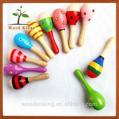 Random Color Suitable For Men And Children Women Original Plastic Sand Hammer Maraca Rattle Shaker Kids Musical Instruments Baby Sound Music Toy 1 Pcs