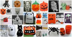 Just a Small Selection of our Halloween Crafts!