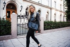 The Perfect Biker Jacket | Fanny Lyckman   #fashion #streetstyle #swedish #blogger #FannyLyckman #MichaelKors #JennieEllen