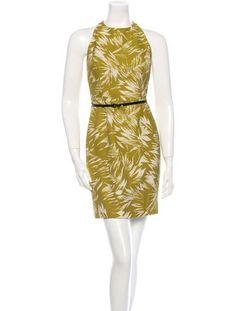 Jason Wu Sleeveless Printed Dress #PrintsCharming #SpringTrend