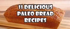 11 Delicious Paleo Bread Recipes - Paleo Diet Recipes