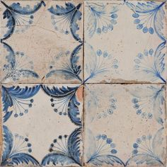 Old Faro Patterned is a porcelain floor and wall tile, suitable for interior applications. A brilliant rendering of antique blue and white terracotta tiles, with all their ageing, fading and patina. Old Faro Patterned perfectly captures the spirit of the Mediterranean. Also in the Old Faro Collection we have a Blue & White Chequer and a Plain White.