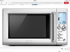 Breville microwave ........because I am gadget girl!