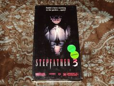 Stepfather 3/III: Father's Day (VHS, 1992) Rare OOP Vidmark Horror! *NOT ON DVD*