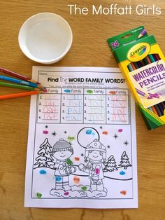 Teach basic addition, subtraction, sight words, phonics, letters, handwriting and so much more with the January NO PREP Packet for Kindergarten!