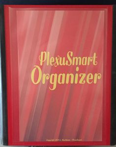 PlexuSmart Organizer Binder by PlexuSmart on Etsy    Use Code CODLB to get $3 discount at check out.