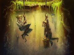 Awesome mix of Uncharted and Monkey Island!