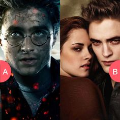 Harry Potter or Twilight? Click here to vote @ http://getwishboneapp.com/share/3940351